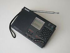 SUPER VINTAGE SONY RADIO PORTABLE SHORTWAVE WORLD BAND RECEIVER  ICF-SW7600G