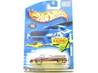 Hotwheels Montezooma 183 55068 Purple Long Card 1 64 Scale Sealed