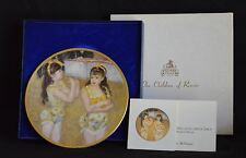 PICKARD CHINA PLATE - THE CHILDREN OF RENOIR~ TWO LITTLE CIRCUS GIRLS ~      `