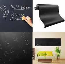 60×200cm Blackboard Removable Vinyl Wall Sticker Chalkboard Decal Chalk Board UK