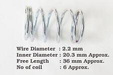 DIAMETRO del Wire 2.2mm x 20.3mm ID x 36mm Lunghezza molla a compressione in acciaio fai da te Strumento