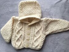 816ed95e5 Hand Knitted Baby Aran in Boys  Jumpers   Cardigans (0-24 Months)