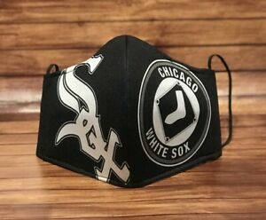 Chicago White Sox Face Mask with  integrated double filter