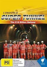 The London's Super Tunnel - 15 Billion Railway (DVD, 2015) New  Region Free