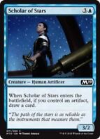 MTG x4 Scholar of Stars Core Set 2019 M19 Common Blue NM/M Magic the Gathering