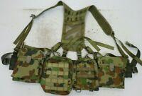 AAFC PLATATAC AUSCAM ARMY RAAF CADET  WEBBING SET PLUS 2 DPC  MINIMI Pouches