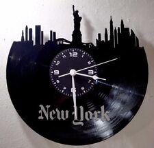 OROLOGIO DA PARETE - Idea Regalo - DISCO VINILE - CITTA' GRANDE MELA  NEW YORK