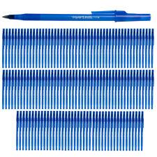 132ct Paper Mate Journal Notebook Office Supplies Pens Blue Ink Bulk Pen Set