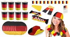 AMSCAN - Large Germany Fan Kit (25-teilig) World Cup Em Party Football Package