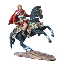 Tin Toy Soldier Mounted Alexander the Great on horseback figurine 54mm #8.30