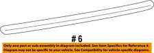 CHRYSLER OEM 03-04 PT Cruiser Front Door-Upper Molding Trim Right 5303624AB