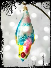 Sale! Unique Christopher Radko Parrot Hanging Big Handcrafted Glass Ornament