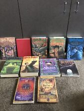 Lot 11 Harry Potter books complete series set HC 1-7 Magical world Beedle + MORE