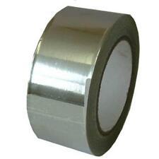 Aluminium Self Adhesive Foil Tape 50mm x 45m Roll Heat Insulation