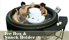INFLATABLE HOT TUB ICE BOX AND DRINKS HOLDER