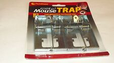 2 PACK METAL MOUSE TRAP FOR INDOOR & OUTDOOR USE