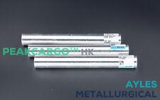 3 Stück Magnesiumstab Magnesium 99.99% Stab Stange Mg Rein 127mm x 17mm Glänzend