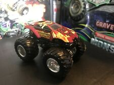 Hot Wheels Monster Jam Truck 1/64 Rare Old Maximum Destruction Max D Red