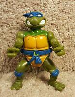 1990 Playmates TMNT Teenage Mutant Ninja Turtles Leonardo Leo Action Figure