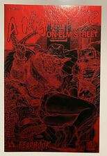 A Nightmare On Elm Street Fearbook #1, red & black Leather Edition, NM+ Avatar