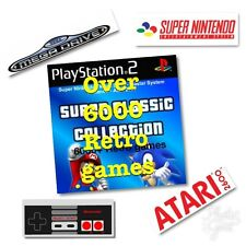 RETRO NINTENDO SNES NES SEGA MEGADRIVE ATARI 2600 6000+ Game Collection Superman