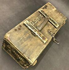"""1942 WW2 GERMAN ARMY WEHRMACHT AMMUNITION GRENADE BOX """"30 GEWEHR-SPRENGGRANATEN"""""""