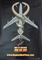 AUTOGRAPHED - 'Snakes On A Plane' (Samuel L. Jackson) Movie Poster (27x40) + COA