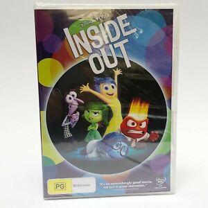 DVD SEALED Disney Pixar Inside Out Amy Poehler Bill Hader - 2015