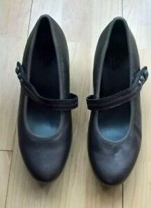 Hotter Charmaine Low Heel Mary Jane Leather Metallic Bronze UK Size 7  EXF