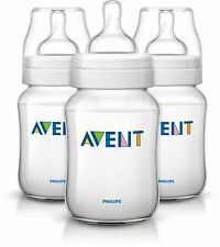 AVENT CLASSIC FEEDING BOTTLE 260ML 3 PACK
