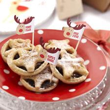 Rocking Rudolph Navidad Mince pie recoge/Navidad Canapé Palos-Gama completa en la tienda!