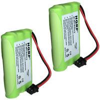 2er Pack HQRP Telefon Batterie für Uniden DCT648-3 DCT6485 DCT6485-2 DCT746M