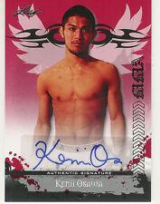 2010 LEAF MMA UFC KENJI OSAWA RED AUTOGRAPH AUTO AU-KO1