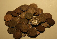 Old Rare Full Dates - Lot of 20 Different Dates - Indian Head Penny Collection