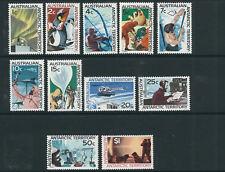 Australian Antarctic Territory 1966-68 long set complete (Scott L8-18) Vf Mnh