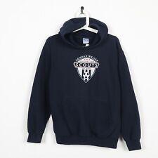 Vintage USA Conrad Weiser Soccer Club Hoodie Sweatshirt Navy Blue Small S