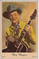 Lithograph - Roy Rogers playing Guitar - Dutch-made - 1940s era?