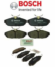 For Ford Mustang 05-10 Pair Set of 2 Front & Rear Brake Pad Set Bosch QC BC1082