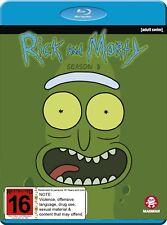 RICK AND MORTY - SEASON 3 [NON-USA FORMAT REGION B] (BLU-RAY) NOT SEALED