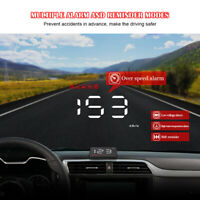A1000 Auto HUD Digitales Head-Up-Display OBD2 Tacho-Geschwindigkeitswarnsystem