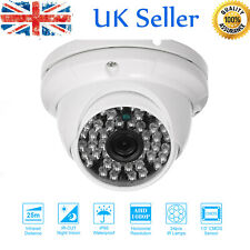 Dome CCTV Camera AHD 1080P Security Surveillance IR-Cut NightVison CMOS PAL X7E7