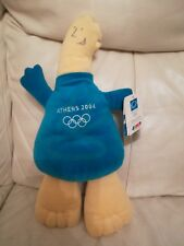 Phevos Soft Toy large 43 cm Athens 2004 official merchandise Mascot Nwt Olympics