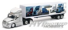 NEWRAY 1:43 DIE-CAST FREIGHTLINER CASCADIA SILVER/CABS GRAPHIC 16043