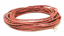 Western Electric 16GA 10meter wax cloth copper wire for tubes amplifier speaker