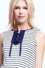 NWT Maternal America Maternity Lace Up Shift Dress - Size XS  (0-2)