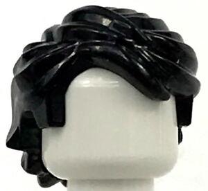 LEGO Nuovo Nero Figure Mini Capelli Swept Posteriore Boy Parrucca Pezzi