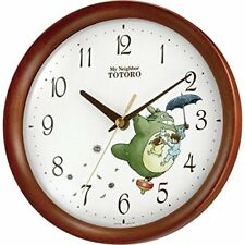 New Clock My Neighbor Totoro Rhythym Wall Clock From Japan F / S from Japan