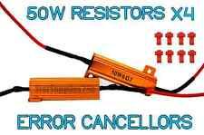 4x 50w carga resistencias para señal indicadores libre de errores indicador de flash Adaptadores