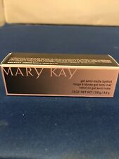 New In Box Mary Kay Gel Semi-Matte Lipstick Midnight Red 089646 ~Ship Fast Free!