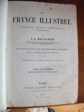 LA FRANCE ILLUSTRÉE. MALTE-BRUN .1881. Tome 2.